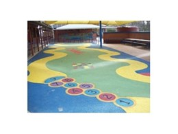 Checking back with Synthetic Grass & Rubber Surfaces' TPV rubber wetpour installation at St John's Lutheran Primary School