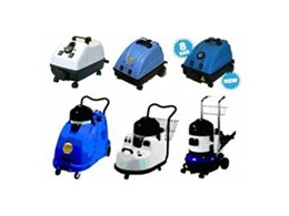 Chemical free steam cleaners available from Duplex Cleaning Machines