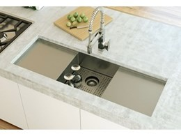 Clark combines design and function with the new Fusion range of kitchen sinks