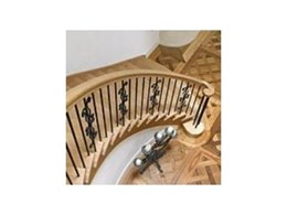 Classic curved stairs from S & A Stairs