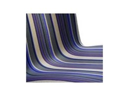 Classic stripe collection of upholstery fabrics from Woven Image