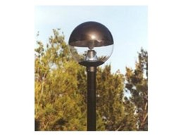 Clear and Prismatic LCS post top spheres from Dasco Lighting
