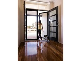 ClearShield security doors deliver safety in a chic package