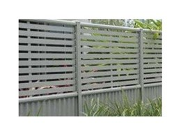 Clik'n'Fit® COLORBOND® steel fencing available now from Superior Screens