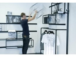 Co-create with ALU Slider visual merchandising systems from mei + picchi