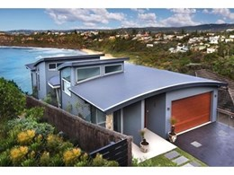 Colorbond Ultra steel roof from Bluescope Steel installed at northern beaches home