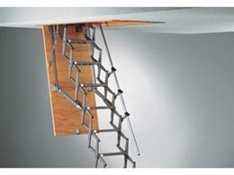 Columbus Flat Roof scissor stair attic ladders