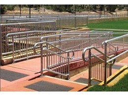 Commercial and industrial balustrade systems from Moddex Group in new modular steel design
