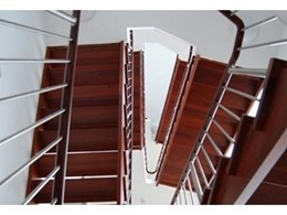 Commercial stairs available from S & A Stairs
