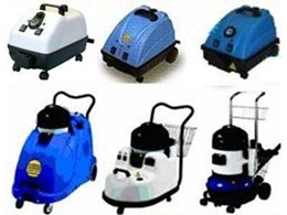 Commercial steam cleaners and steam vacuum cleaners from Duplex Cleaning Machines