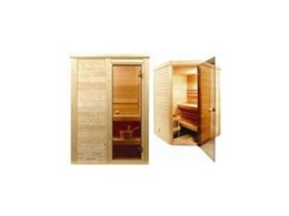 Compact sized saunas from Ukko Saunas