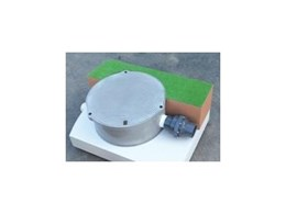 Composite Resin Access Cover and Turret from Sydney Water Tanks