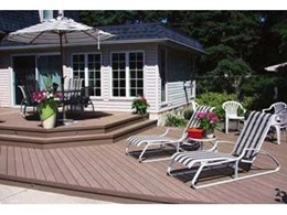 Composite decking from Mitten Vinyl an alternative to wood