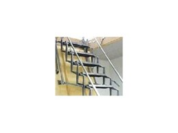 Concertina roof space ladders from Enzie Stairs
