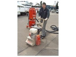 Concrete Planer 10'' Petrol Kit now hiring from Kennards