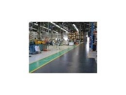 Concrete epoxy coating available from Auscraft Painting