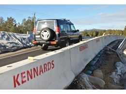 Concrete road barriers a new milestone for Kennards Hire Traffic