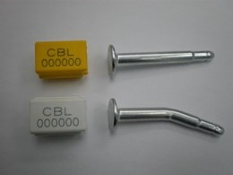 Container Bolt Lock seals join the expansive range of transport seals from Mega Fortris