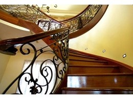 Continuous and wall mounted staircase handrails available from S & A Stairs