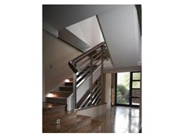 Continuous handrailing available from S & A Stairs