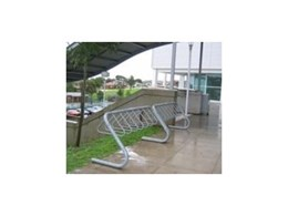 Cora Bike Rack install bicycle parking racks at Ryde Aquatic Centre