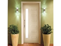 Corinthian Doors provide the contemporary Studio entrance door range