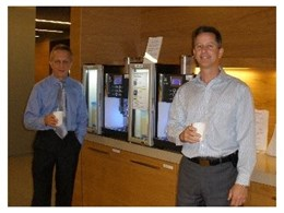 Corporate Coffee Solutions supply WMF Presto coffee machines to CGU