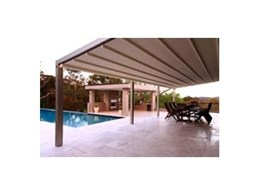 Corradi Millenium retractable roof systems by Aalta Screen Systems