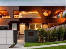 Corten steel cassette panels specified for Sunshine Coast Residence cladding