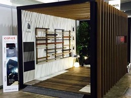 Covet showcases Ever Artwood range and concrete overlay at DesignBuild Expo 2016