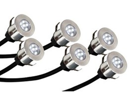 Crompton Lighting LED deck lights from Online Lighting