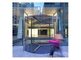 Crystal Series revolving doors and specialist glazing installed at former Sydney Stock Exchange building
