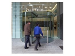 Crystal and Diamond glass roof revolving doors from Record Automated Doors surge in popularity