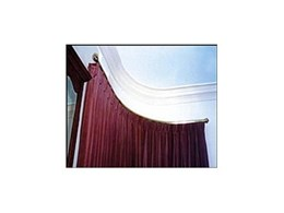 Curtain tracks, curved and arched tracking systems from Artrak Australia