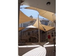 Custom shade sails for schools to reduce sun damage in childhood and adolescence