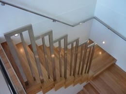 Custom staircases available from Eric Jones Stairbuilding Group