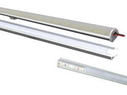 Customise LED strip enclosures from Vibe Lighting for creative lighting