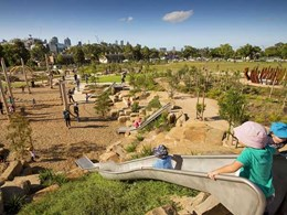 City of Melbourne's Nature Play at Royal Park crowned Australia's Best Playground
