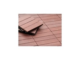 DIY decking made easy with Futurewood's deck tiles