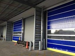 DMF provides new visual safety features in high speed doors