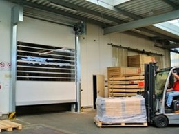 DMF's high speed roll doors withstand 120km/h winds