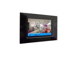 DTP100 Revolution colour touchscreen available from Dynalite