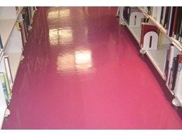 Dalsouple rubber flooring 8 years old and looking good in Perth