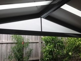 Datco Industries new pergola infills for smart gable ends