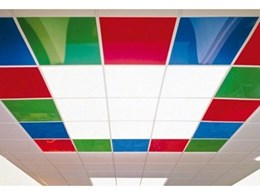 Decorative ceiling tiles from Barrisol offer new design opportunities
