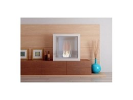 DesignFile 009: Blu Box Fireplaces from The Fire Company to display at designEX