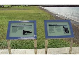 Digiglass provide freestanding glass memorial signs for the Department of Veteran Affairs