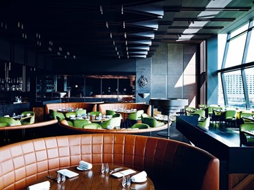 Best Restaurant Design: Dinner by Heston Blumenthal by Bates Smart. Photography by Mark Roper