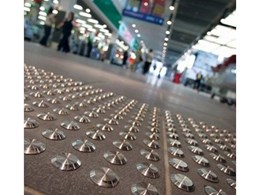 Discrete Architectural Stainless Steel Tactile Indicators from CTA Australia