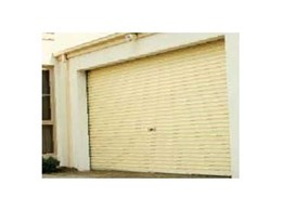 Domestic roller doors from Stramit Building Products